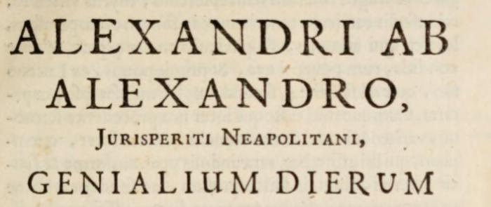alexander-ab-alexandro-genial-days