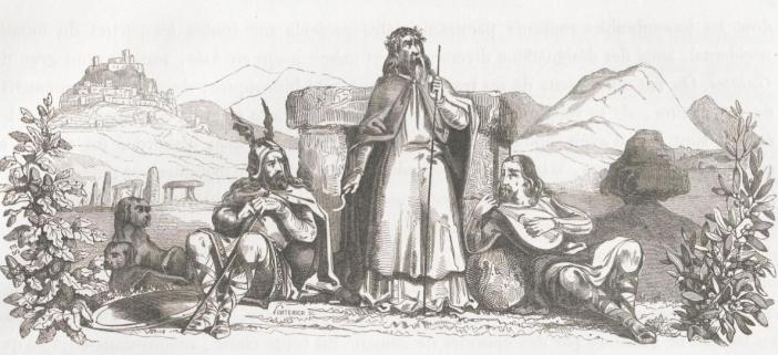 Lancienne-Auvergne-et-le-Velay-ancient-auvergne-godfreysalmanack-druids-and-vercingetorix