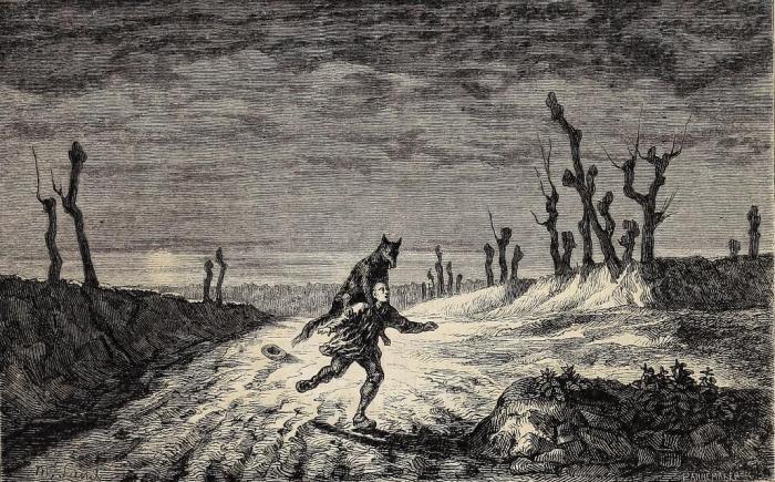 loup-garou-werewolf-auvergne-godfreysalmanack-maurice-sand