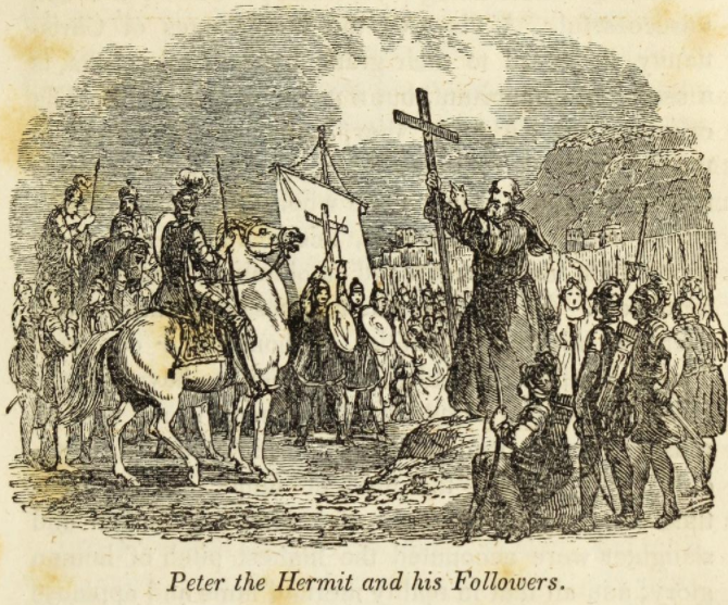 peter-the-hermit-deus-vult-godfreysalmanack.org-lights-and-shadows